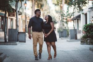 st augustine engagement session