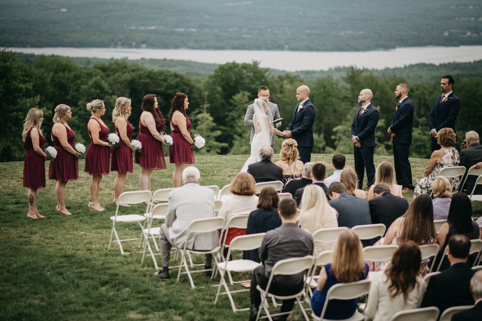 New England wedding views